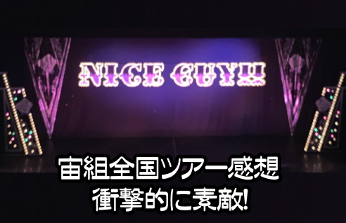 宙組全国ツアー『追憶のバルセロナ/NICE GUY!!』感想 衝撃的に素敵!