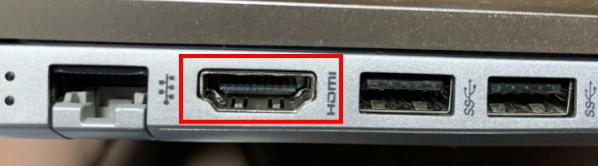 パソコンのHDMI端子