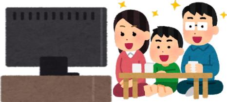 テレビを楽しむ