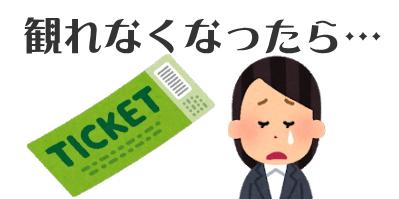 チケットのリセール