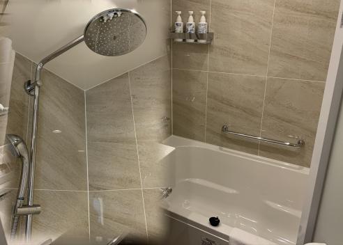 レインシャワーとお風呂